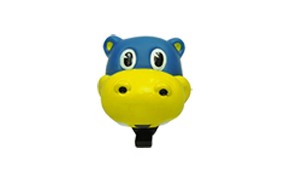 Buzina Infantil em borracha atóxica tipo Hipopótamo