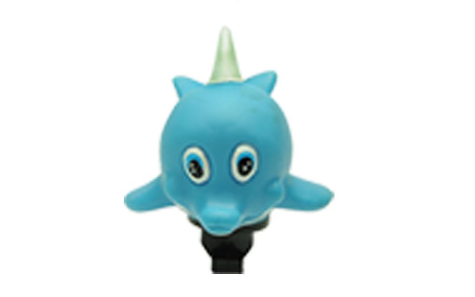 Buzina Infantil em borracha atóxica tipo Golfinho