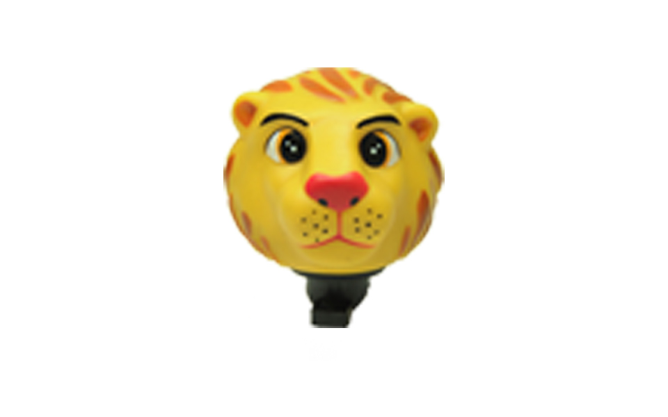 Buzina Infantil em borracha atóxica tipo Leão