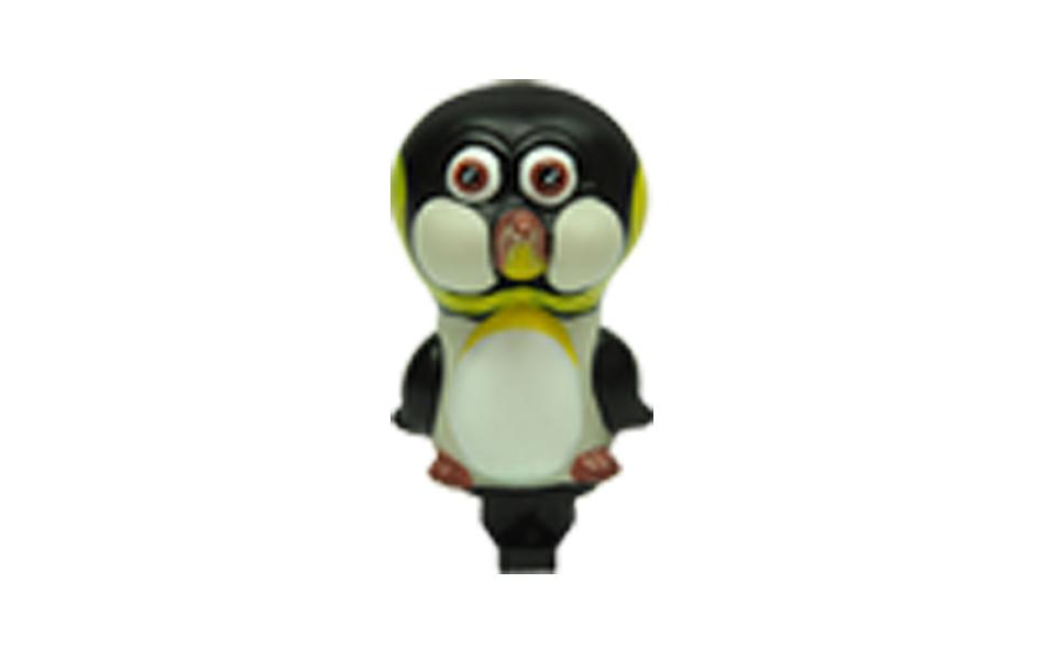 Buzina Infantil em borracha atóxica tipo Pinguim