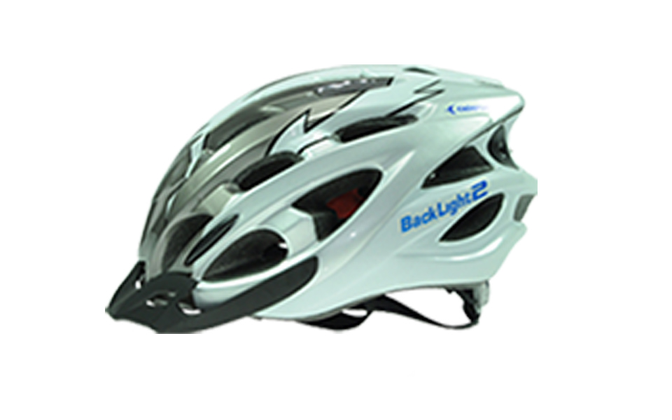 Capacete CALYPSO BACK LIGHT 2 Prata