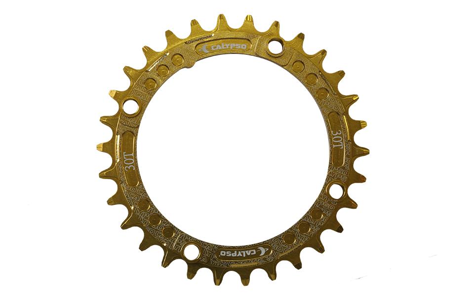 Coroa Calypso Aluminio Single Dourada